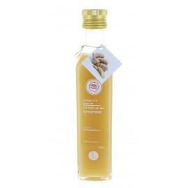 Vinaigre à la pulpe de citron et au gingembre
